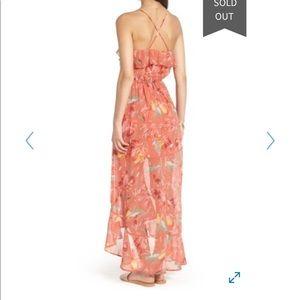 Pre-Owned - As U Wish - High Low Ruffle Maxi Dress